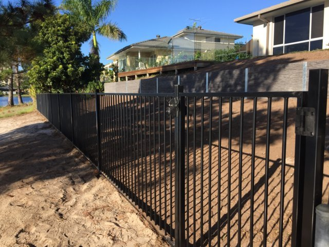 Aluminium fencing Gold Coast