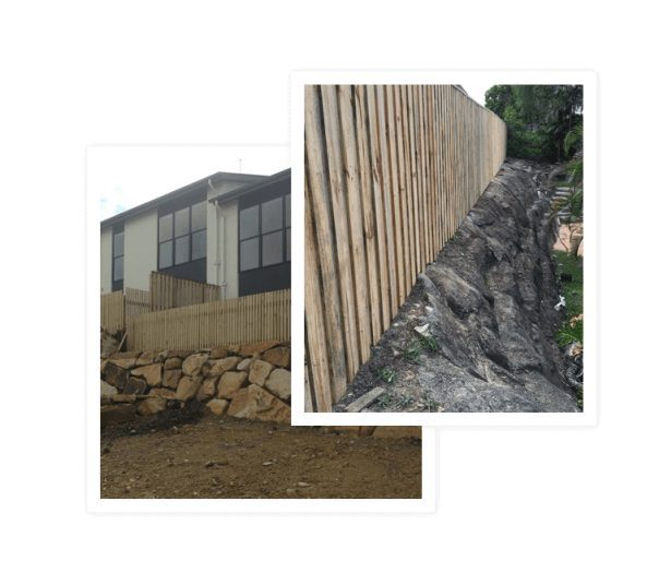 Project of Retaining Walls